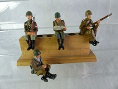 4 Umbau Massefiguren aufgesessen für Fahrzeuge - mimikry Tarnung - Lot11 | eBay