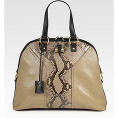 Yves Saint Laurent Ysl Oversized Muse Handbag (1 950 AUD) found on Polyvore