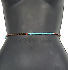 Waist Beads, Beaded Belly Chain, Seed Beads, African Waist Beads, Women's Jewelry, Body Jewelry, Minimalist Jewelry, Women's Body Jewelry, Stretch Bracelet. One beautifully handcrafted beaded belly chain. This belly chain is perfect for the summer with a bikini or a simple crop top! Show off all that hard work! Also great gift idea for the holidays.These waist beads have no open/closure. Simple step into these and pull them up (carefully)! Because of the simple minimalist design these…