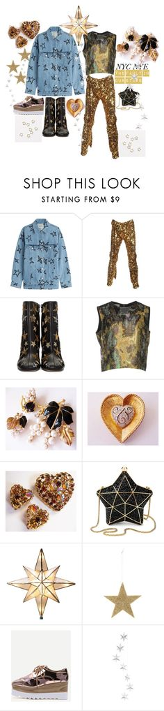 """the fault in our stars"" by cherrylippedroses ❤ liked on Polyvore featuring Être Cécile, Vivienne Westwood, Valentino, Dries Van Noten, Trifari, Aspinal of London, GE and Bloomingville"