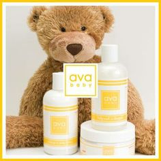 Ava Anderson baby line is chemical free, safe and smells great. There are only a couple of products that I trust to put on my daughters skin and this is one of them!  www.avaandersonnontoxic.com/oceanna