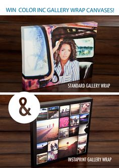 Gallery Wraped Canvas Giveaway for the March I Heart Faces Photo Challenge!