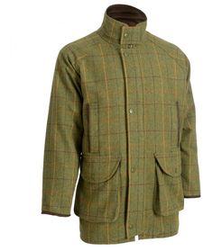 Alan Paine Compton Gents Tweed Shooting Coat - Landscape Tweed Shooting  Jacket 1a4fa74bc5dea