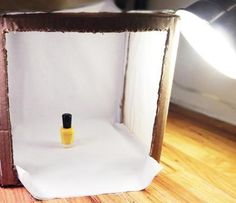 How to Build a Light Box to Take Better Nail Photos