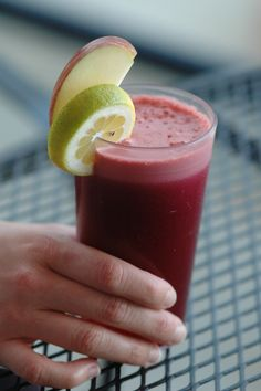 The Zinger: organic beet, apple, orange, lemon & ginger