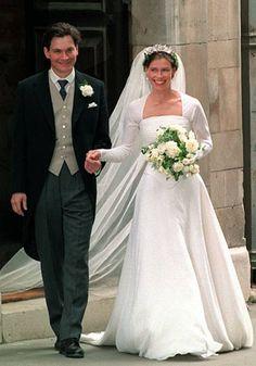 Lady Sarah Armstrong Jones & Daniel Chatto 1994 wedding