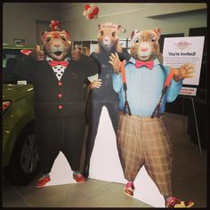 Say hello to some of the newest members of the team at Kia of Puyallup! #KiaSoul #KiaKey #Hamstardance