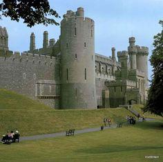 Arundel Castle in Sussex, Englandi was here in 1972!