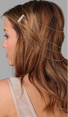 Chain hair