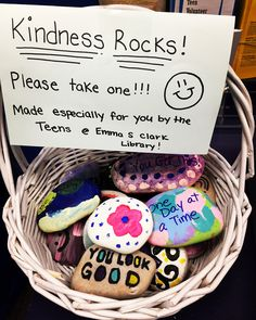 Kindness Rocks made