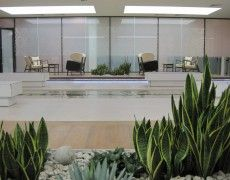 Glass Waterfall, Modern Glass, Water Features, Indoor, Interior, Wall, Decor, Water Sources, Decoration