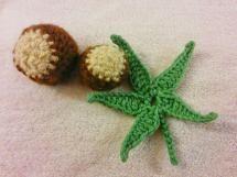 20 FREE Crochet Leaf Patterns for Every Season: Buckeye Leaf Free Crochet Pattern