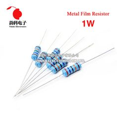 Pack of 15 2.2 Ohm 1//2 Watt Universal Resistor
