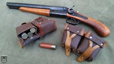 Shotgun and Mosin Nagant Pouches by DrJorus on DeviantArt Zombie Weapons, Weapons Guns, Firearms, Shotguns, Must Have Gadgets, Assault Weapon, Custom Guns, Cool Guns, Kawaii Art