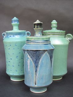Covered Jar collection July 2013