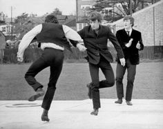 The Beatles dancing to Can't Buy Me Love in A Hard Day's Night