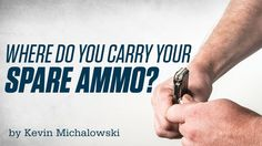 Choosing to carry spare ammo for your fighting pistol is a good idea. Just remember to select the right spot. The most common place for a concealed carrier to hang a spare magazine is on the off-side hip. This makes for a very direct and fast reload and does not force you to reach across your body.