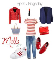 """Sporty kingsday"" by melanie-hegeman on Polyvore featuring Frame, Maison Labiche, IRO, adidas, Topshop, Givenchy, Lilly Pulitzer and NARS Cosmetics"