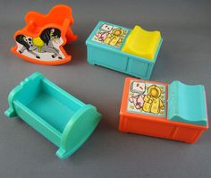 Awesome. I really should by this  Fisher Price Furniture x 9   Cradle Table by BellsBeehiveEmporum, $12.00