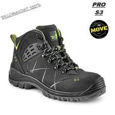 Bocanci de protectie confortabili si rezistenti MOVE Hiking Boots, Shoes, Fashion, Walking Boots, Moda, Shoes Outlet, Fashion Styles, Shoe, Footwear