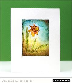Video Tutorial: No Line Watercoloring for a One-Layer Card