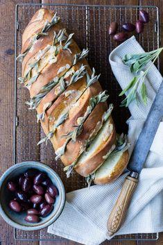Thermomix Sage Garlic Bread