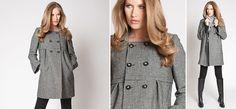 Houndstooth wool coat from mamarella  Cara Mantel aus der Kategorie Strickjacken & Jacken von Mamarella - Details