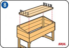 You don't need to buy a wooden cold frame – it's easy to build your own. You'll find simple, step-by-step instructions here for making a cold frame. Scrap Wood Projects, Diy Pallet Projects, Woodworking Projects, Outdoor Planter Boxes, Wood Planters, Raised Planter, Cold Frame, Diy Greenhouse, Pallets Garden