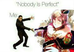 """""""Nobody is perfect"""" Russia - Keiko Homura"""