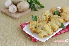 Frittelle+con+funghi+e+patate