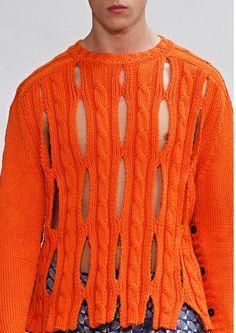 man knitwear