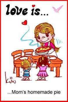 love is…. homemade pie « Love is… Comics by Kim Casali