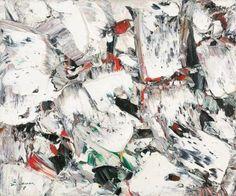 Paul-Émile Borduas | Blancs Métaux | 1955 | Oil on canvas