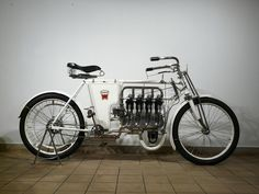 A Laurin & Clement 640cc motorcycle from 1904