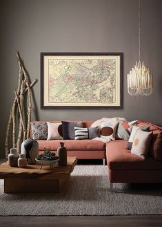 The living room color schemes to give the impression of more colorful living. Find pretty living room color scheme ideas that speak your personality. Best Interior Paint, Interior Paint Colors, Interior Painting, Painting Doors, Gray Interior, Living Room Paint, Living Room Decor, Living Rooms, Living Room Color Schemes