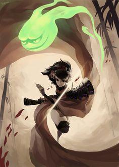 Deadly Dance of the Kunoichi by Noxypia.deviantart.com on @deviantART