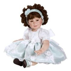 "Charisma Marie Osmond Doll 11"" Baby Rachael Lauren (Seated in Porcelain)"