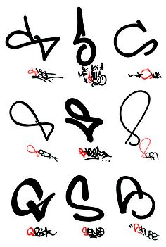 Evan Roth — 'Graffiti Taxonomy'