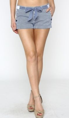 *Navy and White Stripe Shorts* www.shopartifact.com