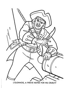pirates coloring page Pirate Coloring Pages, Coloring Pages For Boys, Coloring Sheets, Adult Coloring, Free Preschool, Preschool Worksheets, Images Pirates, Pirates Of The Caribbean, Image Search