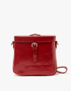 Ida Bag in Cherry Red