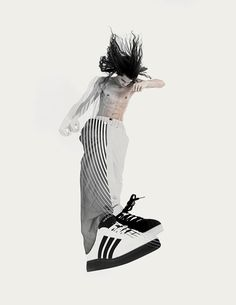 Bauhaus and Capoeira, an action-packed, fashion online editorial. In order to present some sportswear pieces from Adidas, Travis Taddeo, and Lafaille in a Patrick Seymour, Shoe Sites, Chiaroscuro, Create Image, Poster On, Photo Illustration, Design Art, Graphic Design, Art Direction