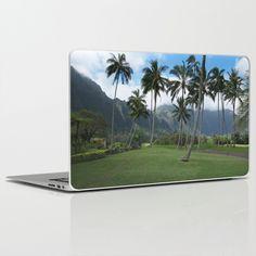 Golf in Hawaii Laptop & iPad Skin by Sunil Bhanot - $30.00