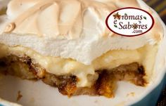 Aromas e Sabores: Torta de banana frita
