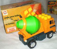 brinquedos estrela anos 60 | Brinquedos Antigos: Betoneira série botões eletrônicos da Estrela ...