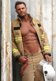 Gay Pride Hommes Fancy Dress Costume Outfit Amazing Hot pompier fireman