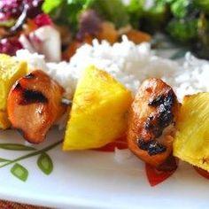 Hawaiian Chicken Kabobs - Allrecipes.com