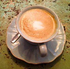 Taza de café #azulverdecasigris