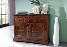 CAMBRIDGE Komoda 90x120 cm, akácia Drawer Runners, 3 Drawer Chest, Dovetail Drawers, Small Drawers, Indoor Air Quality, Dresser As Nightstand, Wood Species, Cambridge, Cabinet