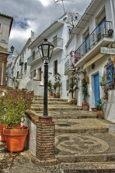 Beautiful streets of Frigiliana in Andalucia, Spain (by mcgin's dad).